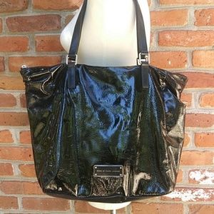 Marc by Marc Jacobs Leather Lacquered Tote